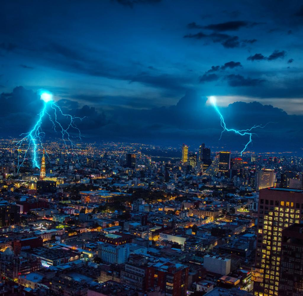 The study shows: A thunderstorm can clean our air well