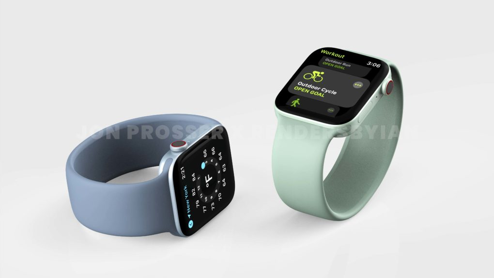 Apple Watch Series 7 Grün