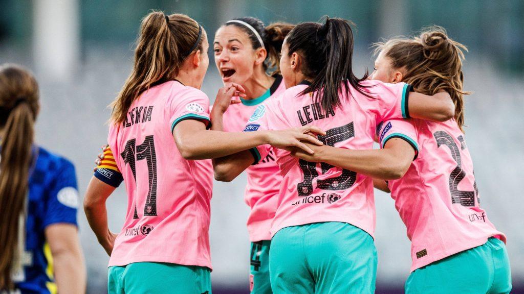 Women's Champions League: Barcelona women's football club ruthlessly punish Chelsea FC - Champions League (women) - Football