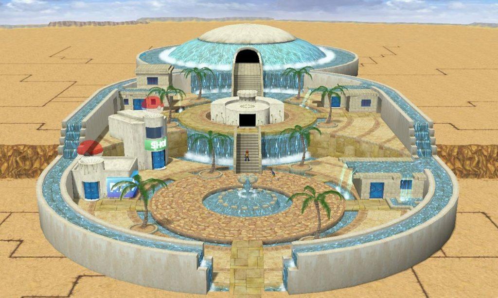 New Horizons player creates Pokemon Colosseum City