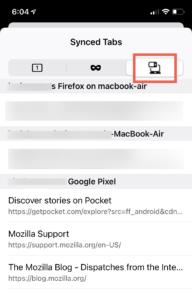 Firefox 34 for iOS