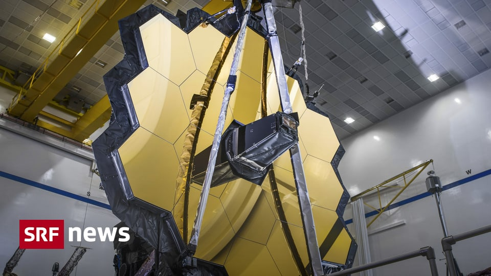 With Swiss technology - new James Webb telescope will soon explore the early universe - News