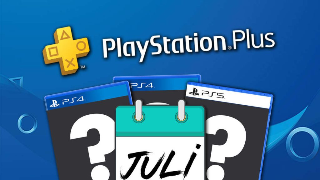 PS Plus: Free Games July 2021 - Announcement date considered safe
