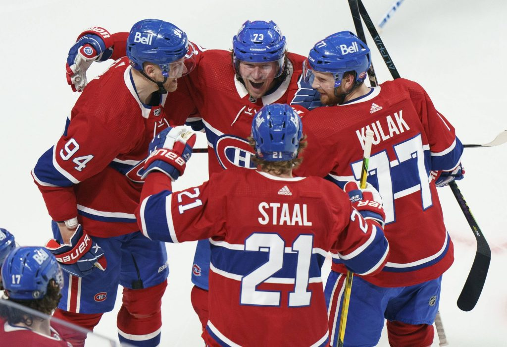 Montreal Canadians first in the National Hockey League semi-finals