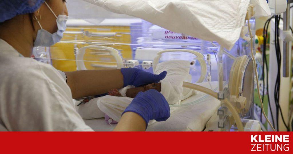 It is said that a South African woman gave birth to ten children «kleinezeitung.at