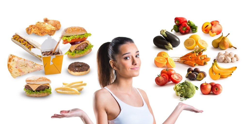 Unhealthy nutrition puts pressure on oneself - especially in women - the practice of healing