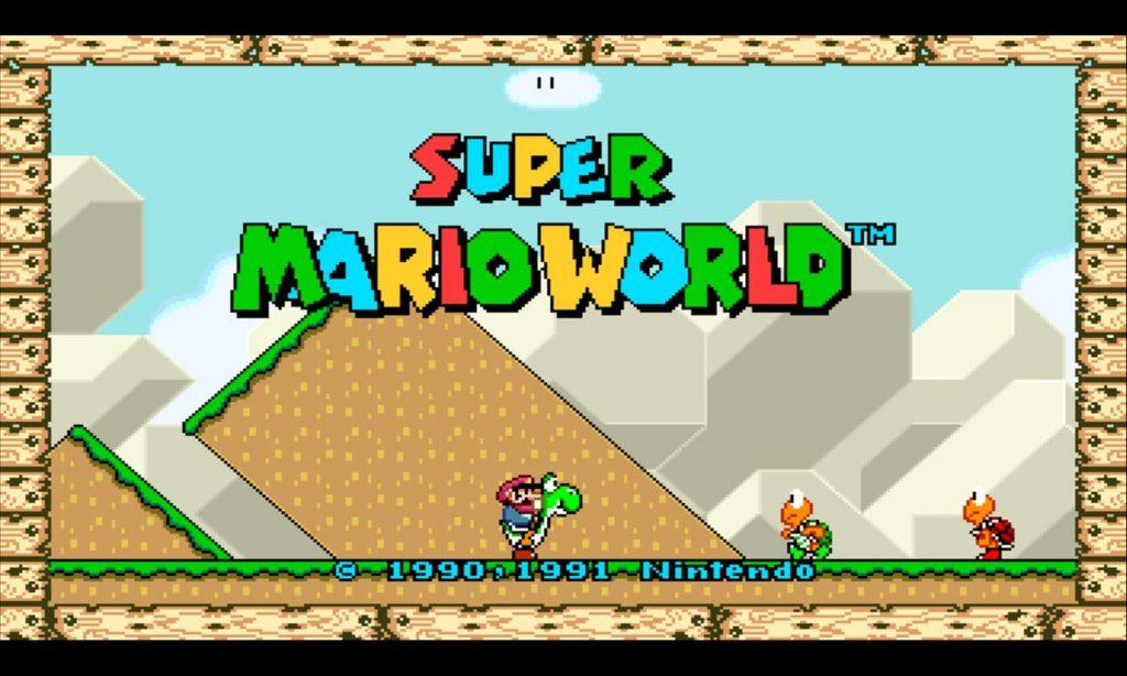 Super Mario World is now 16:9