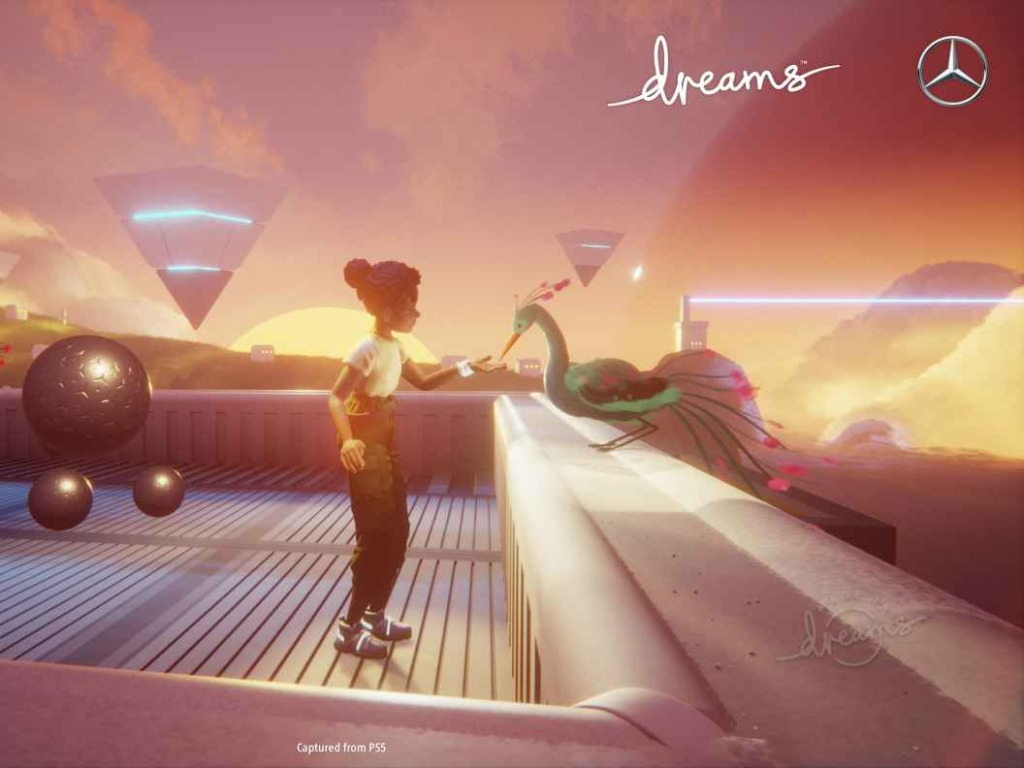 Mercedes-Benz and PlayStation Studios, Media Molecule bring visions of the future to life on PlayStation.