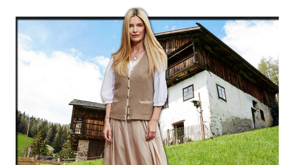 """After participating in """"Die Alm"""", Mirja du Mont explains about alcoholic drinks and the outside building"""