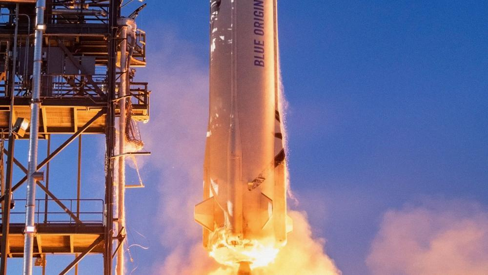 Amazon founder Bezos wants to travel to space with his brother