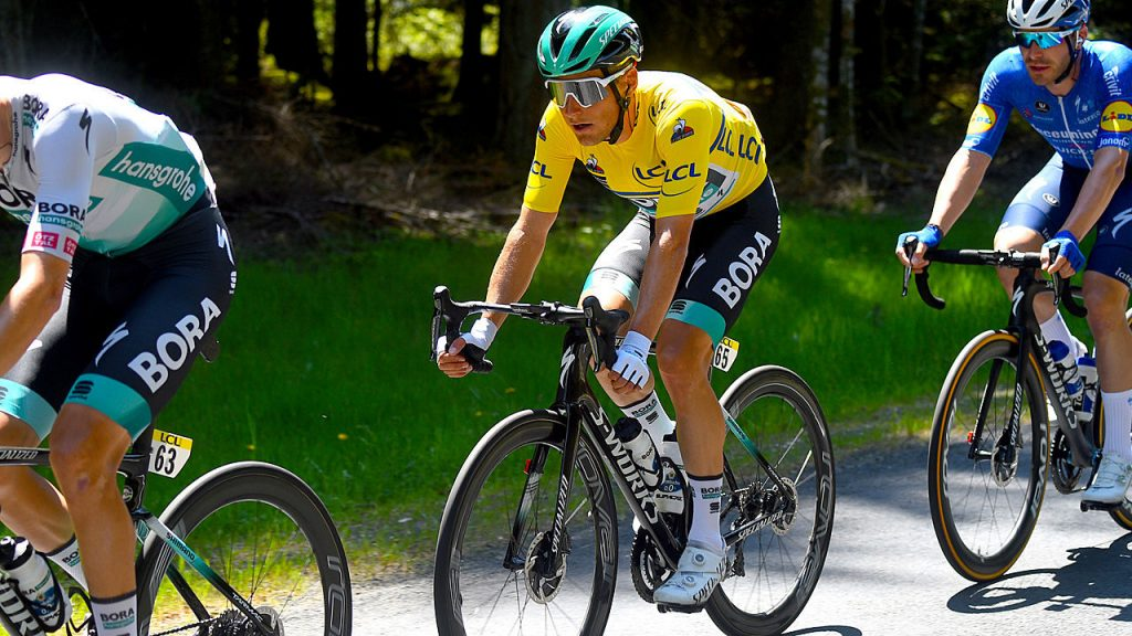 Dauphine: Pöstlberger is defending the yellow jersey in Stage Three - Sports Mix