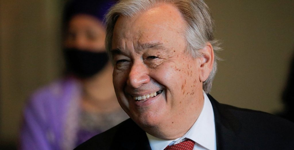 Diplomacy - Guterres remained Secretary-General of the United Nations for a second term