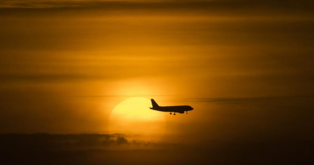 Does it rain more when there are fewer planes in the air?
