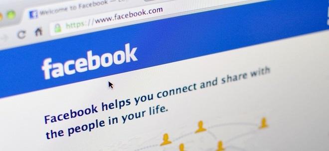 Facebook zahlt in Österreich wegen Giphy-Kauf Millionenstrafe - Facebook-Aktie in Grün