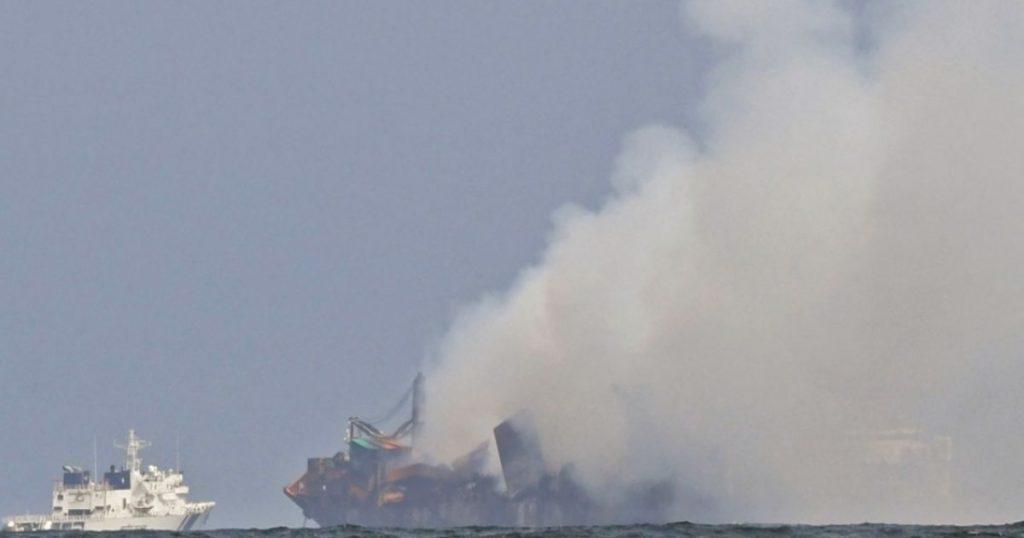 Fire extinguished on cargo ship off Sri Lanka after 13 days