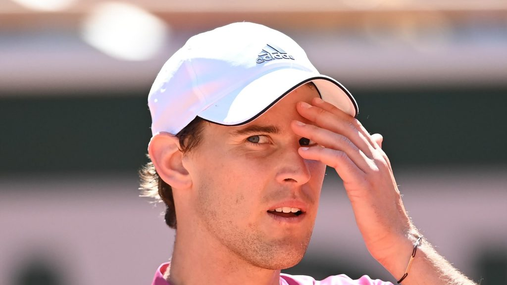 French Open: Dominique Thiem looks positively to the future after losing the first round at Roland Garros