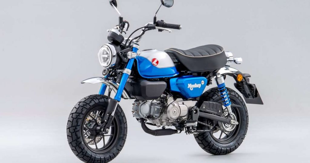 Honda Monkey 2022 the monkey is back!