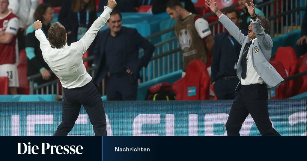 """Italy coach on Austria's performance: """"They make you..."""