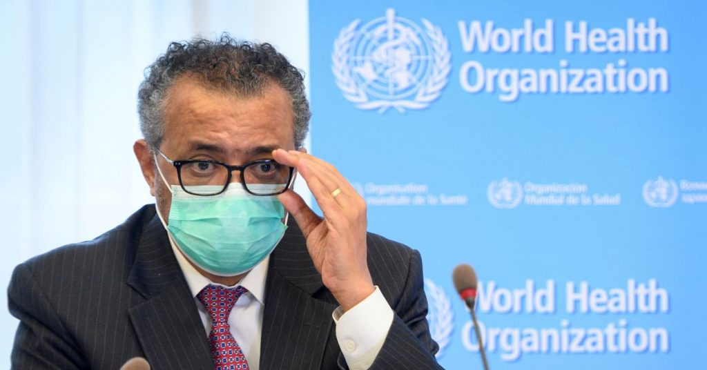 Just give us vaccinations, as the World Health Organization demands, while poor countries stand ready