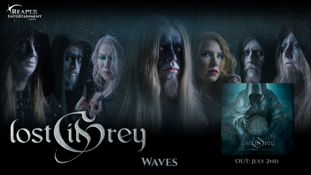 """LOST IN GREY: The third trailer for the album """"Under the Surface"""" is released online!"""