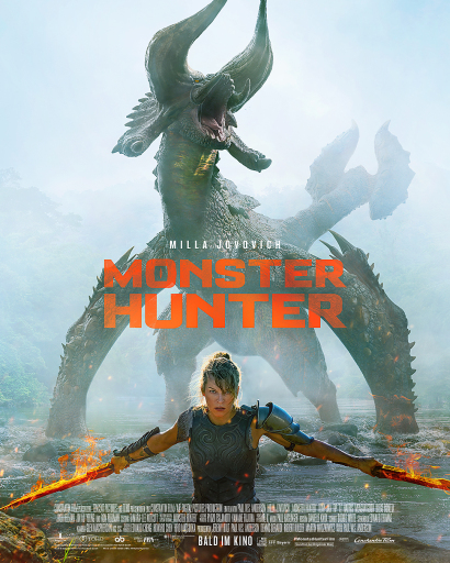 MONSTER HUNTER is finally making movie theaters rock again!