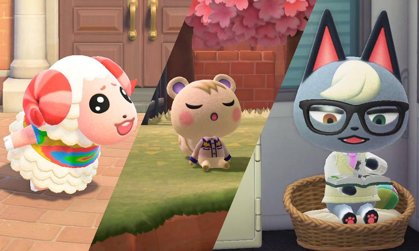 Who is your favorite villager in Animal Crossing: New Horizons?  Dom, Marshall or Raymond?  Famitsu asked his readers!  - (c) Nintendo;  Photo Editing: Daily Gym