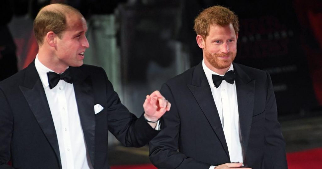 Prince William's collar exploded