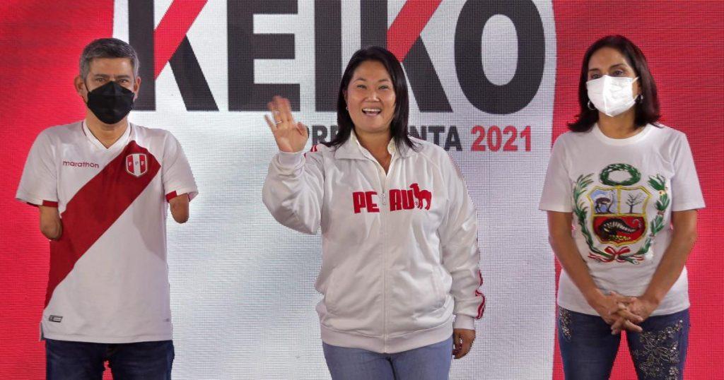 Right-wing populist Fujimori in Peru's presidential election