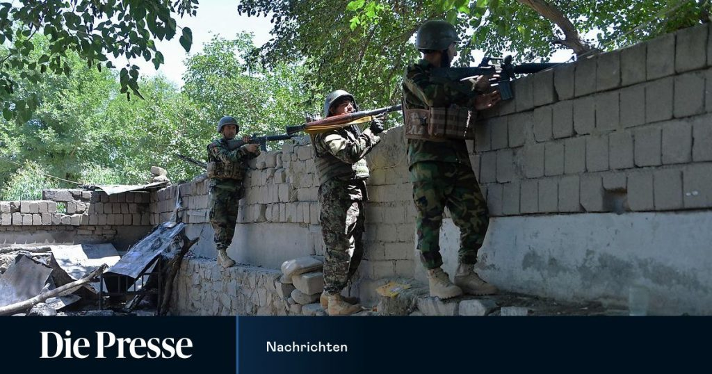 Since the start of the US withdrawal, the Taliban have captured ten Afghans ...