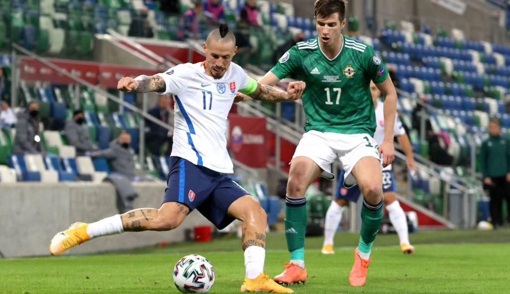 Slovakia captain Hamsik missed the Austrian guest match - Sky Sport Austria