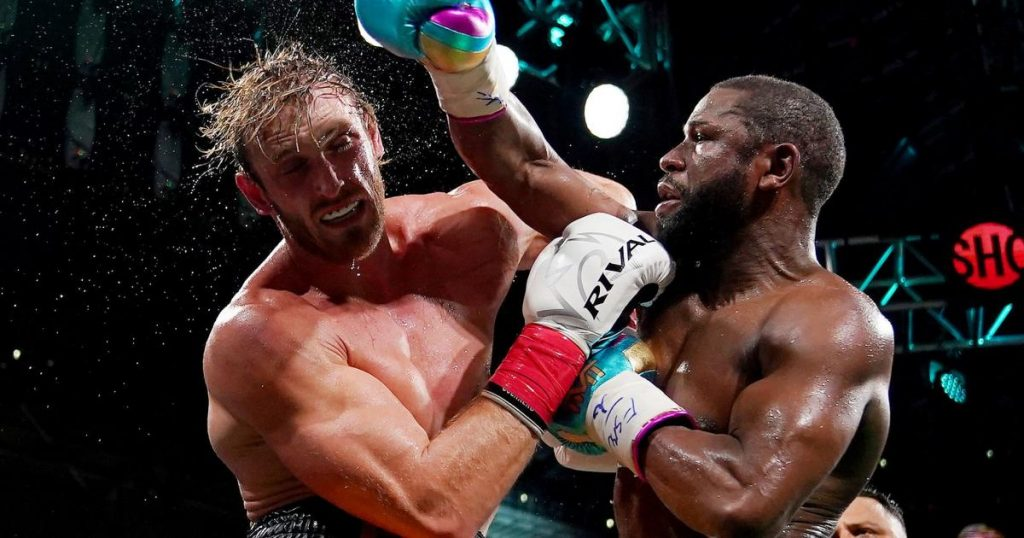 YouTube star Paul survived a boxing match against the legendary Mayweather