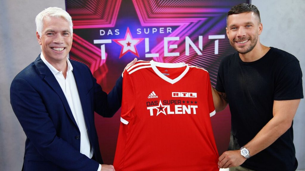 """Next to Lukas Podolski: Will this be the new """"Supertalent"""" jury?"""