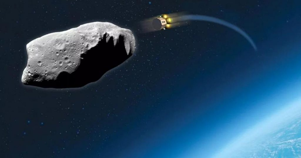 TV satellites are supposed to save Earth from an asteroid at the last minute