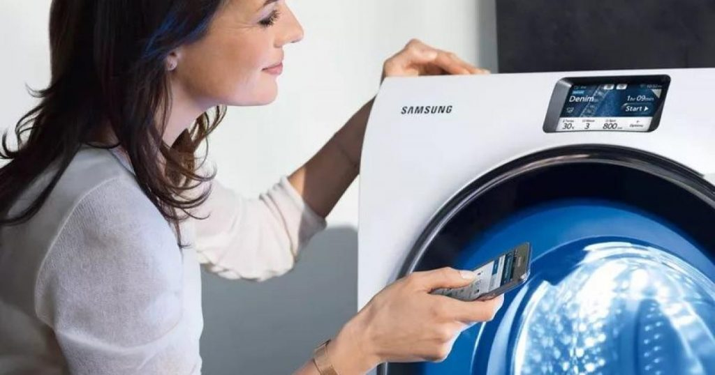 Smart washing machine wants access to smartphone contacts