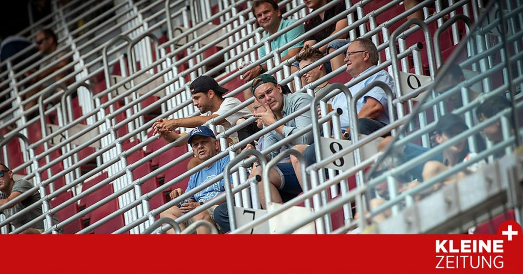 Concert in the Carinthian Bundesliga at Wörthersee Stadium «kleinezeitung.at