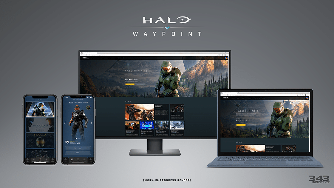 Halo Waypoint: This is what the app looks like.  - (c) 343 Industries via HaloWayPoint.com