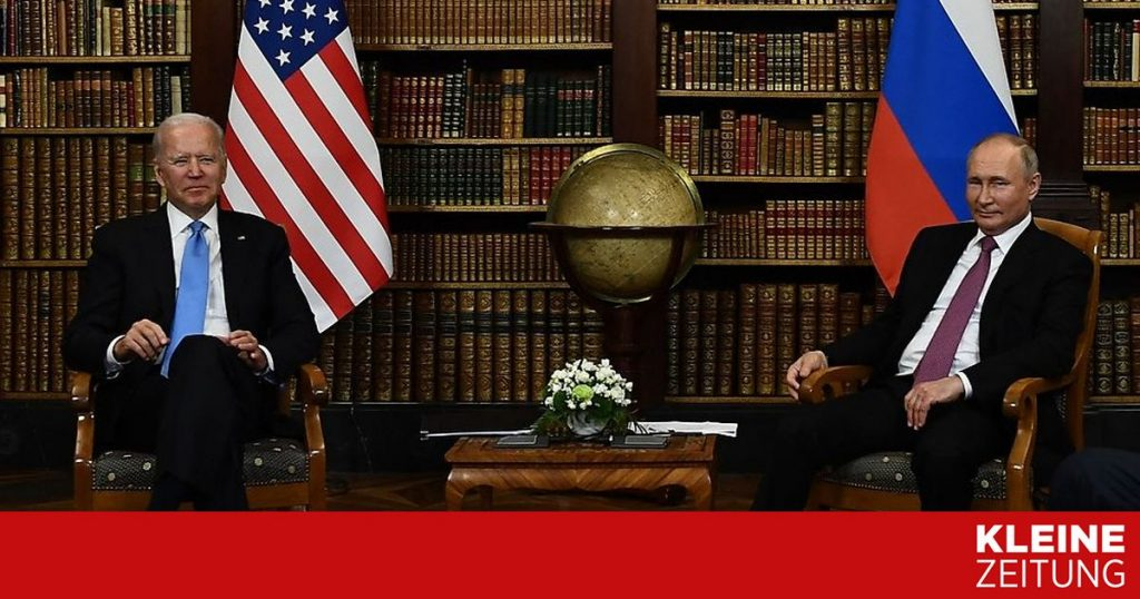 USA and Russia begin new disarmament talks in Geneva «kleinezeitung.at