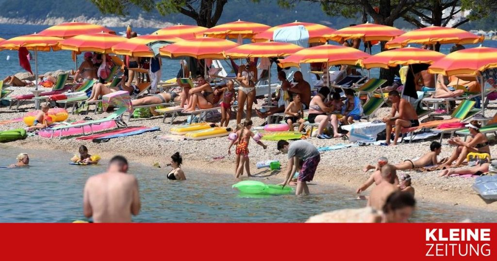 47 degrees in the Balkans and 50 degrees in Italy «kleinezeitung.at