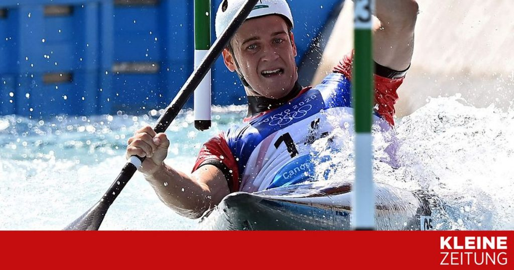 Carinthian Felix Auschmautz misses bronze in kayak single «kleinezeitung.at