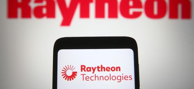 Erholung der Luftfahrt: Raytheon Technologies-Aktie steigt: Raytheon Technologies hebt Jahresziele erneut an