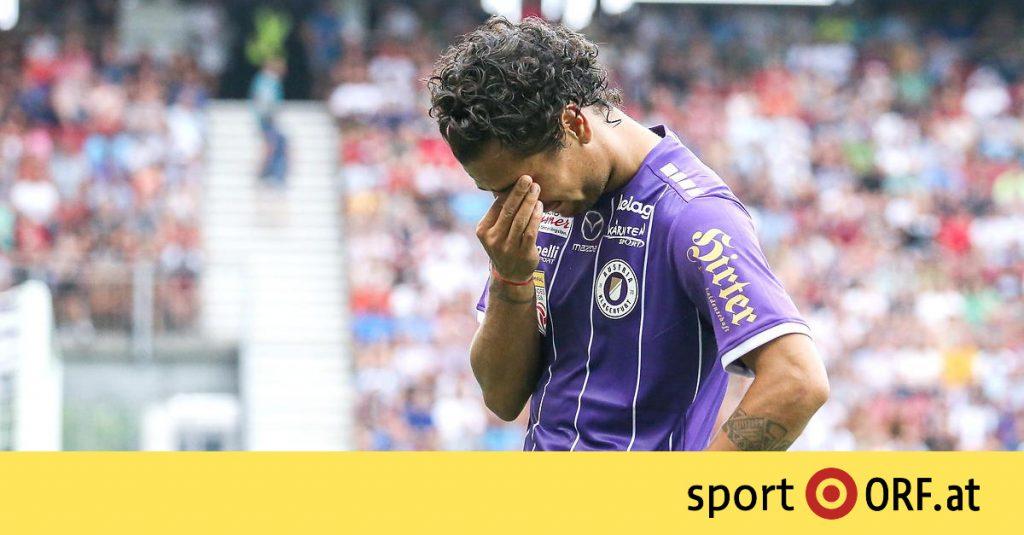 Bundesliga: Klagenfurt begins with a draw in VAR chaos