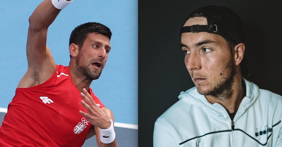 Novak Djokovic vs Jan-Lennard Struve match live on TV, live stream and video Tennisnet.com