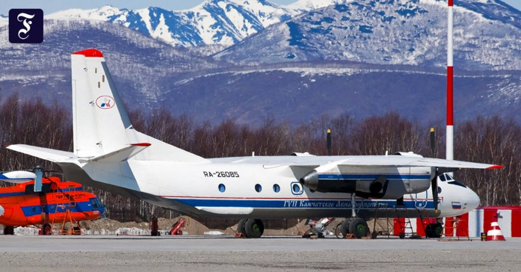 Wreckage of a missing passenger plane found in Russia