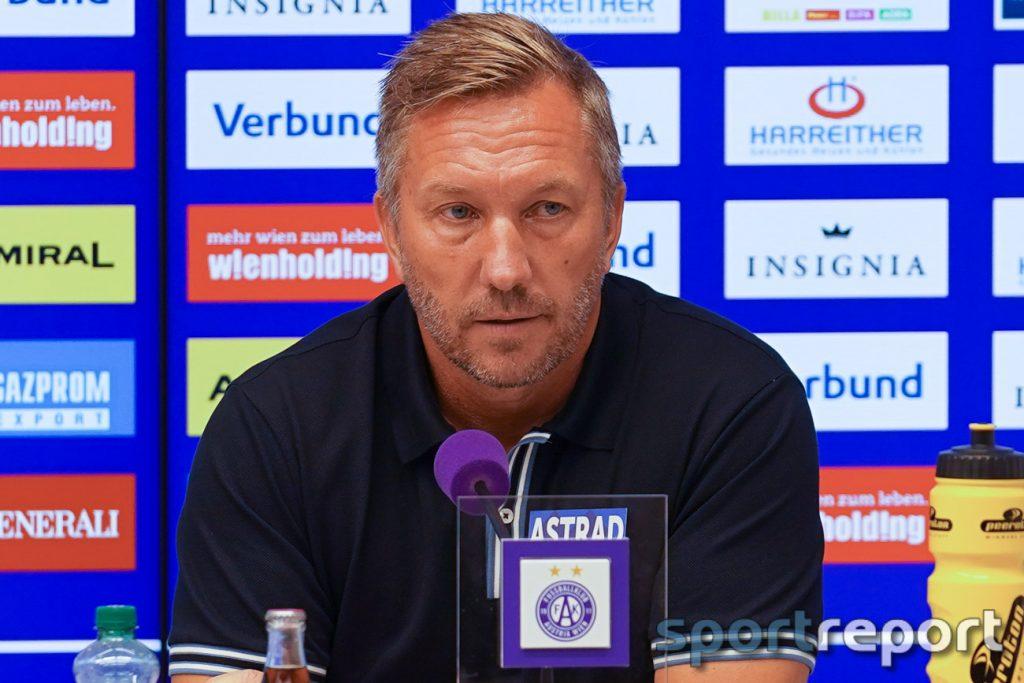 Manfred Schmid (Coach Austria Vienna):