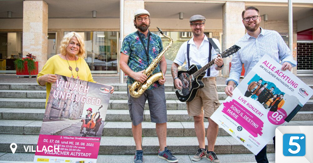 """""""ALLE ATTENTION"""" brings the right flair to Villach in 5 minutes"""