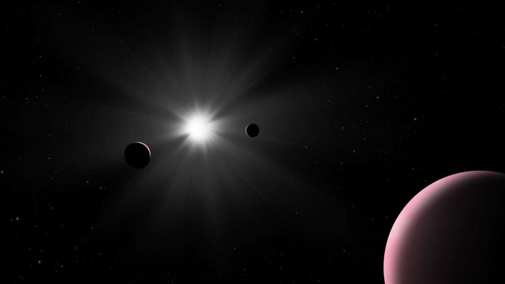 """Exploring the super-Earth in space: the research team finds an """"unusual"""" object"""