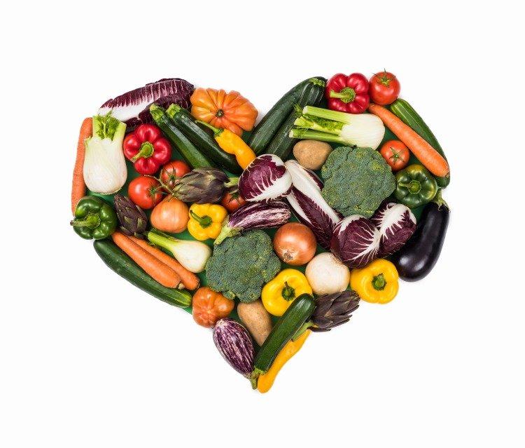 gesundheitlcihe vorteile fürs herz durch mehr pflanzliche lebensmittel als diät