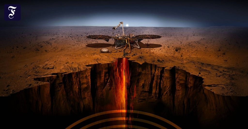 Mars beyond the surface