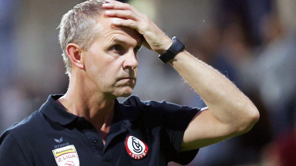Striker Steyr: Supporting Milot despite the coach's rumor - football