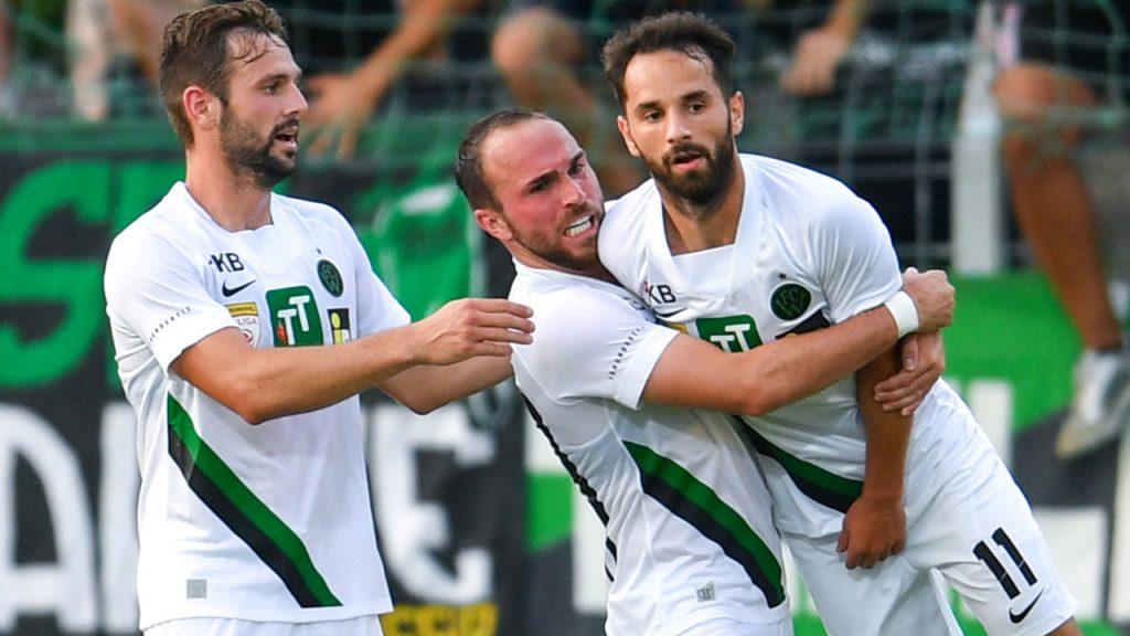 League Two Admirals: Wacker Innsbruck catches striker Steyr goalless - football